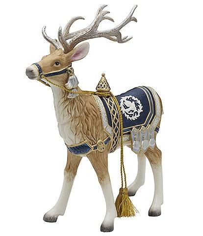 Fitz and Floyd Gregorian Blue Deer Figurine