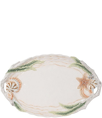 Fitz And Floyd Newport Home Serving Platter