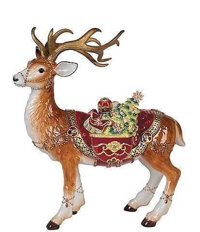 Fitz and Floyd Renaissance Standing Deer Figurine