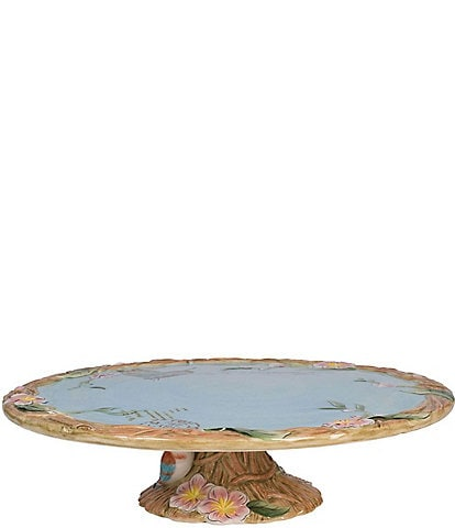 Fitz and Floyd Toulouse Footed Cake Plate