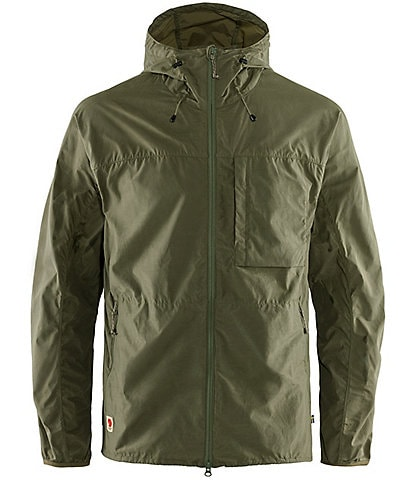 Fjallraven High Coast Full-Zip Recycled Materials Wind-Resistant Jacket