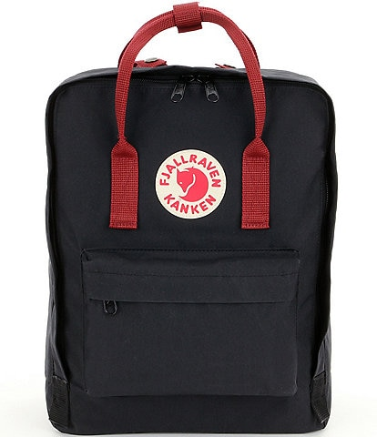 Fjallraven Kanken Colorblock Handles Water-Resistant Backpack