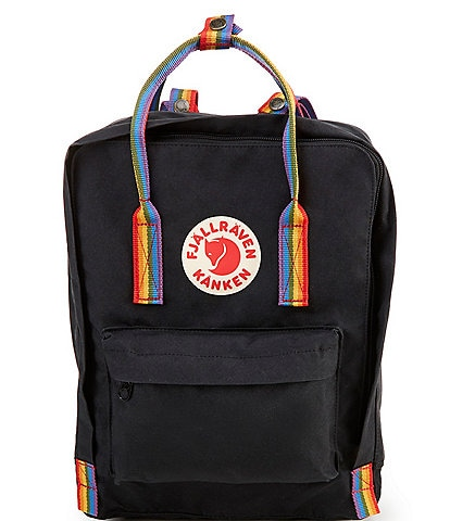 Fjallraven Kanken Rainbow Handle Backpack