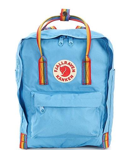 Fjallraven Kanken Rainbow Handle Backpack