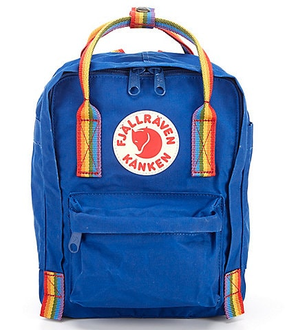 Fjallraven Mini Kanken Rainbow Handle Mini Backpack