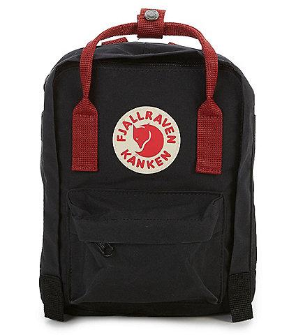 Fjallraven Contrast Handle Mini Kanken Water-Resistant Backpack