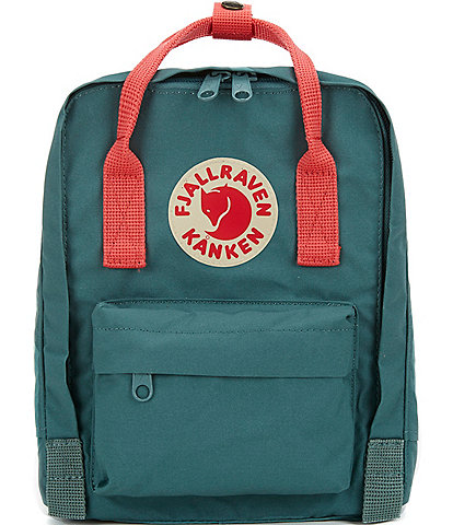 Fjallraven Contrast Handle Mini Kanken Water-Resistant Backpack