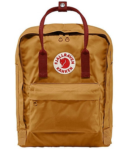 Fjallraven Kanken Water-Resistant Cotton Zipper Convertible Backpack