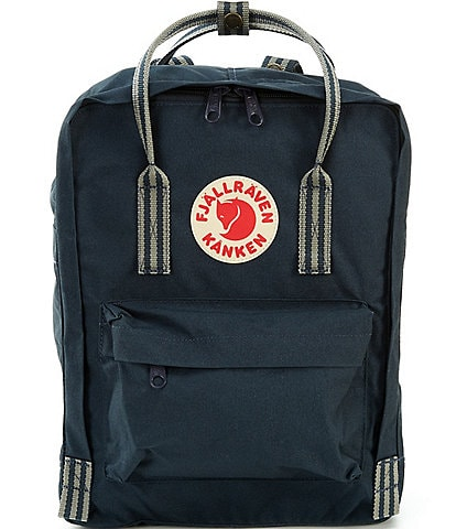 Fjallraven Kanken Water-Resistant Stripe-Handle Backpack