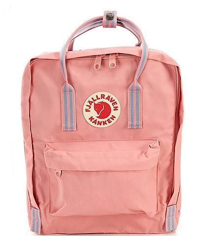 Fjallraven Kanken Water-Resistant Stripe-Handle Backpack