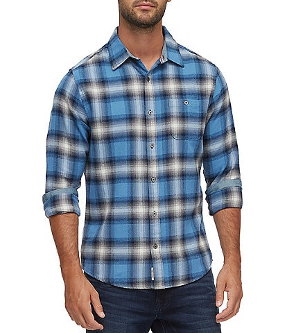 Flag and Anthem Big & Tall Sanders Flannel Long-Sleeve Woven Shirt