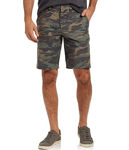 Flag And Anthem MadeFlex Woodson Any-Wear Camo 10#double; Inseam Shorts