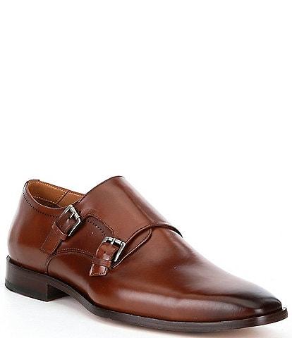 Flag LTD. Men's Noble Double Monk Dress Shoes