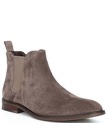 Flag LTD. Men's Pax Suede Leather Chelsea Boots