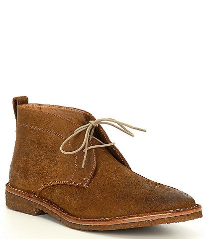 Flag LTD. Men's Rambler Suede Leather Chukka Boots
