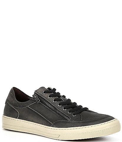 Flag LTD. Men's Vulcon Zip Lo Leather Sneakers