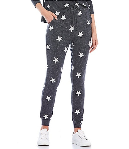 Fornia Coordinating Star Print Lounge Jogger Pants