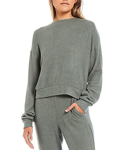 Fornia Long Sleeve Pullover Top