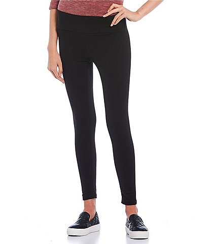 Fornia Peached Brushed Tri-Blend Skinny Leggings