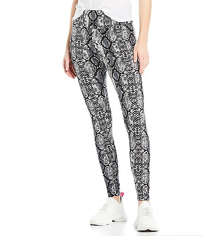 Fornia Python High Rise Peached Leggings