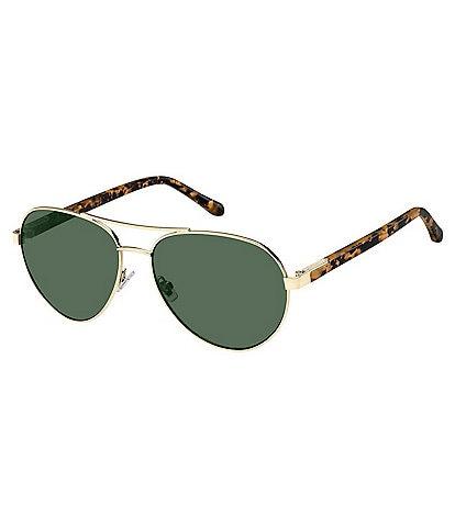 Fossil Aviator Sunglasses