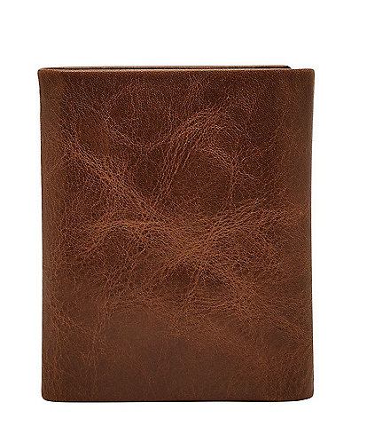 Fossil Beck Leather Trifold Wallet