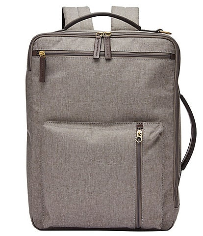 Fossil Buckner Fabric Laptop Backpack/Workbag