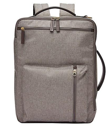 Fossil Buckner Fabric Laptop Backpack/Workbag