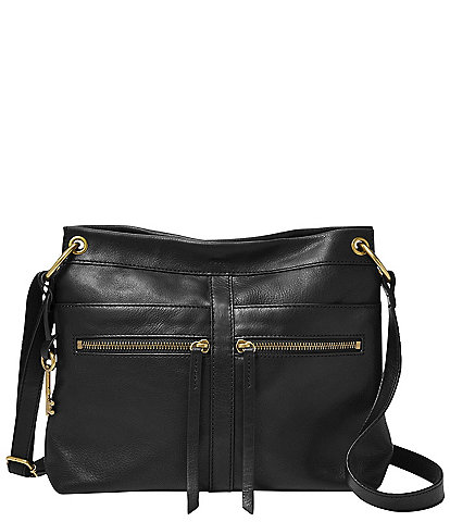 Fossil Caitlyn Leather Crossbody Bag