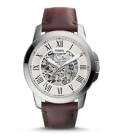 Fossil Grant Automatic Skeleton Watch