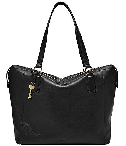 Fossil Jacqueline Leather Tote Bag