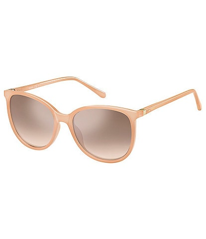 Fossil Jade Rounded 55mm Sunglasses
