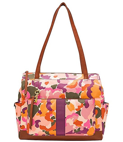 Fossil Jenna Floral Print Shopper Bag