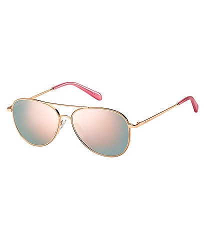 Fossil Light Weight Aviator Sunglasses