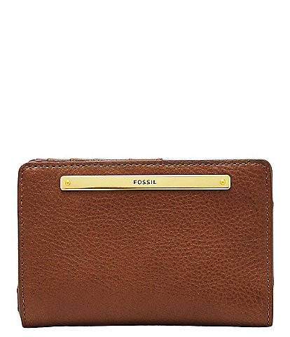 Fossil Liza Multi-Function Leather Snap Wallet