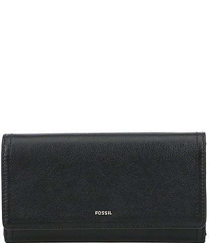 Fossil Logan RFID Leather Flap Wallet
