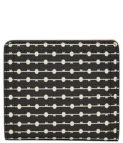 Fossil Logan RFID Floral Printed Small Bifold Wallet