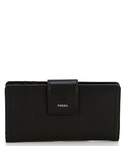Fossil Logan RFID Leather Tab Bifold Wallet