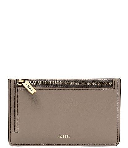 Fossil Logan Zip Pocket Card Case