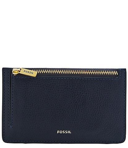 Fossil Logan Zip Pocket Card Case