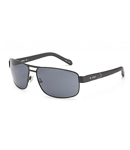 Fossil Matte Rectangle Sunglasses