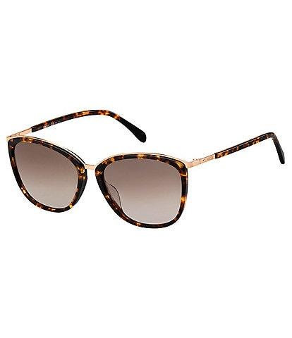 Fossil Round Plastic Sunglasses