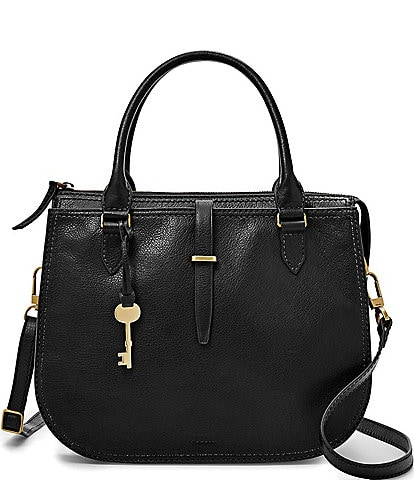 Fossil Ryder Leather Satchel Bag