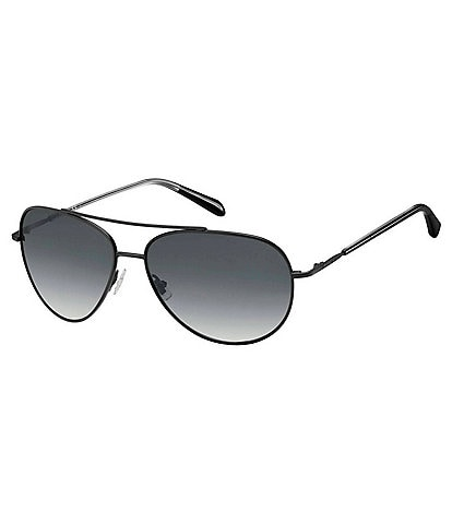 Fossil Sadie Aviator 58mm Sunglasses