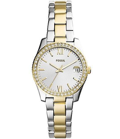 Fossil Scarlette Analog & Date Bracelet Watch