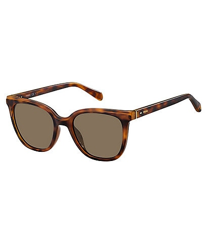 Fossil Square Acetate 52mm Sunglasses