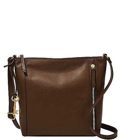Fossil Tara Leather Crossbody Bag