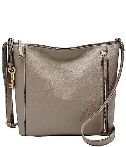 Fossil Tara Leather Crossbody Bag