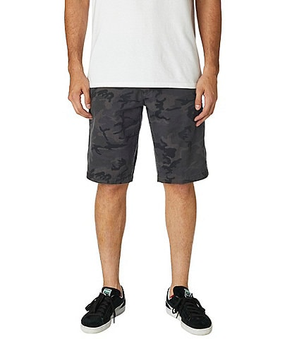 Fox Essex Camouflage 22#double; Outseam Shorts