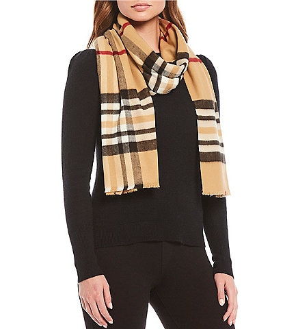 Fraas Exploded Fraas Plaid Scarf